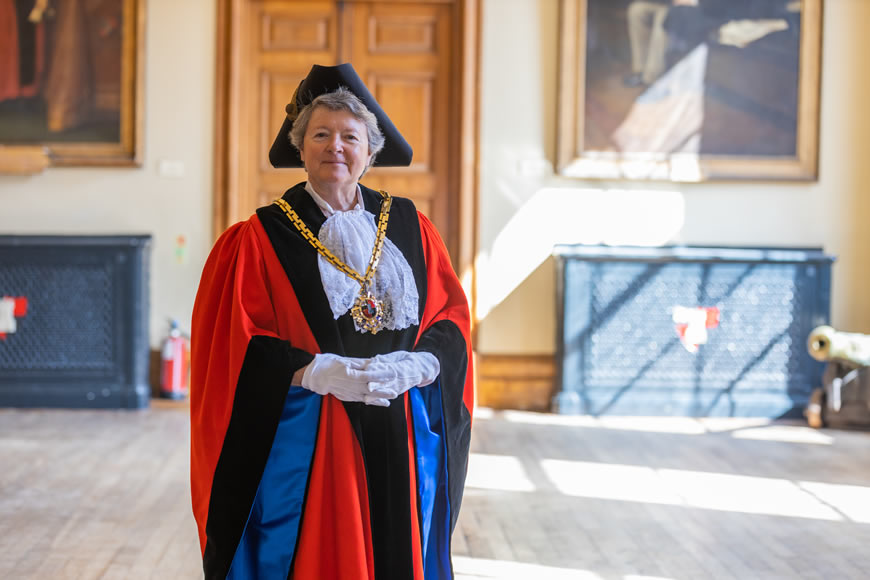 Mayor of Worcester 2021-2021 Councillor Jo Hodges