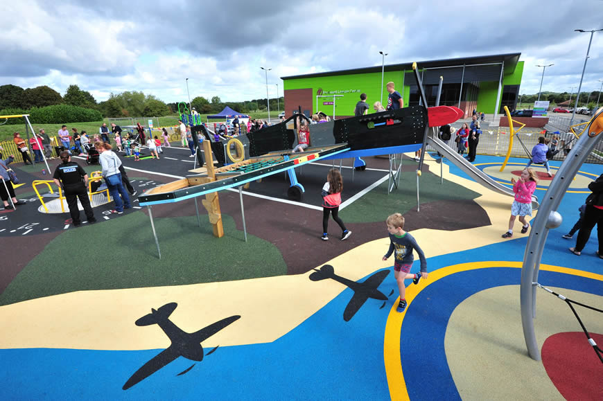 Perdiswell Park Play Area