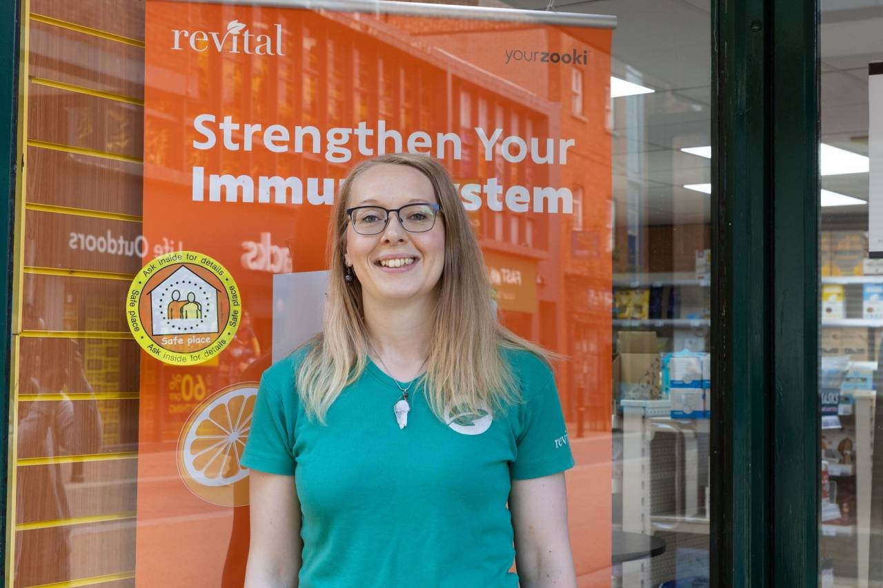 Worcester-Revital-store-manager-Alex-Browning-is-proud-to-support-Safe-Places