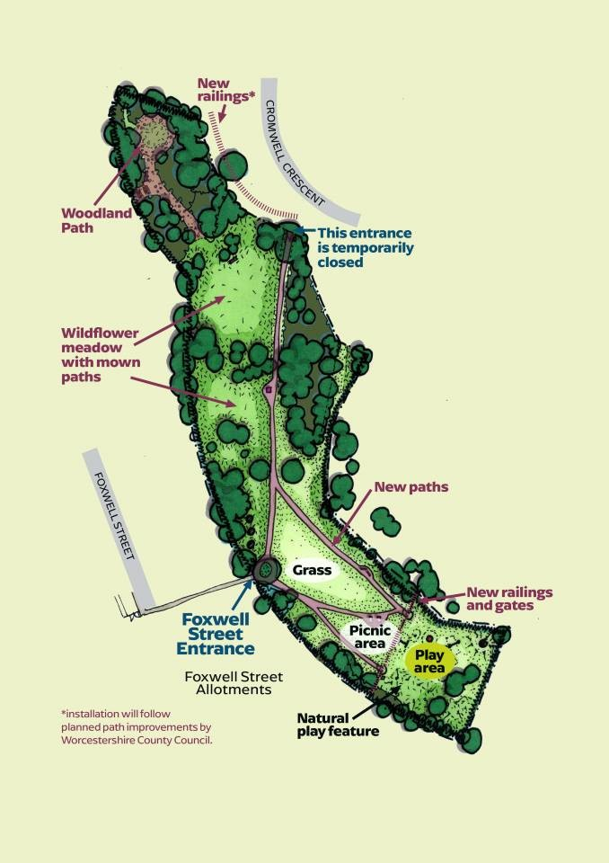 Cromwell-Crescent-Park---map-of-improvements