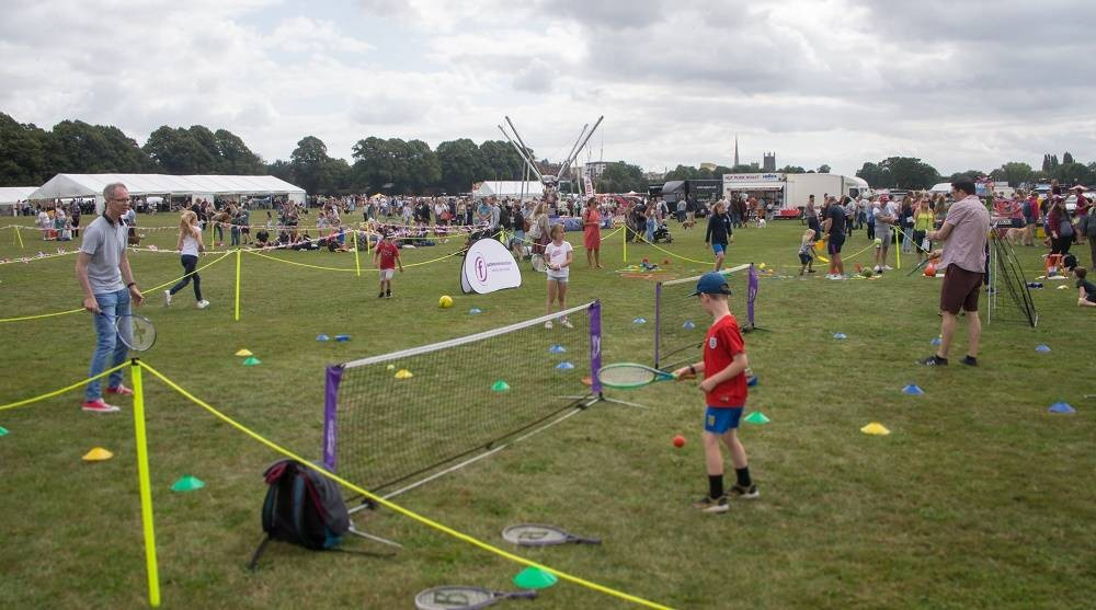 Community-grant-supported-sports-zone-at-Worcester-Show-2021