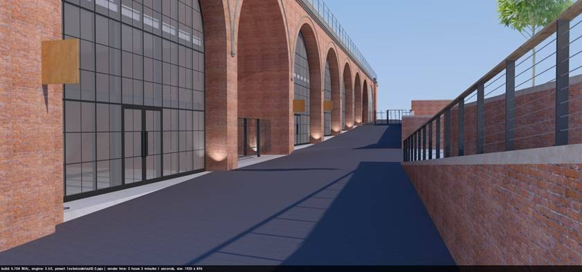 KKE-architects---artists-impression-of-the-revamped-Arches-Worcester