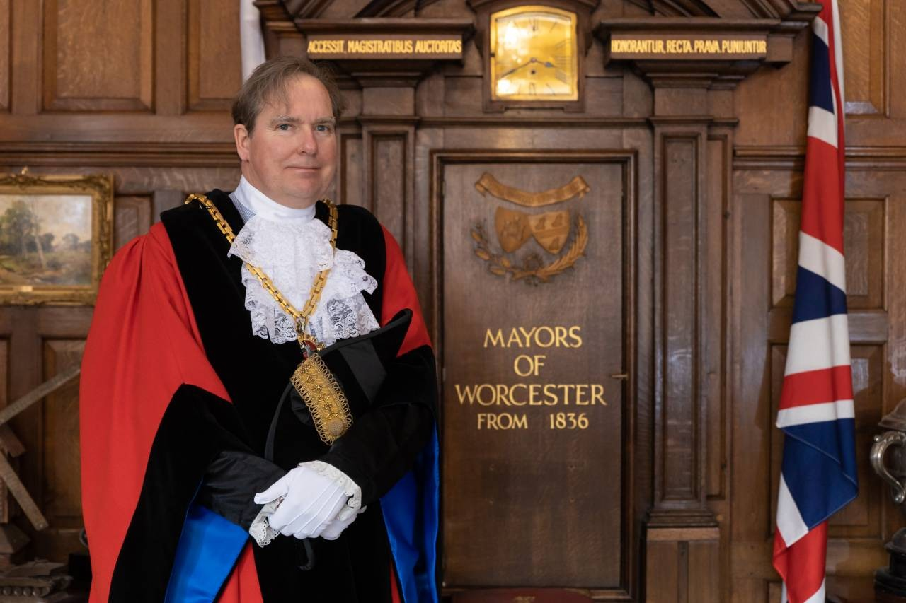 The Mayor of Worcester, Councillor Stephen Hodgson