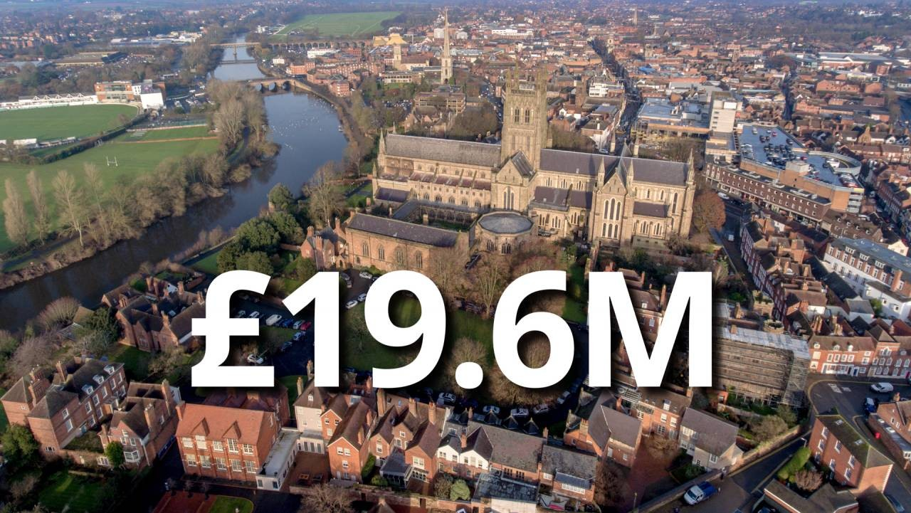 Worcester receives £19.6m from the Government's Towns Fund