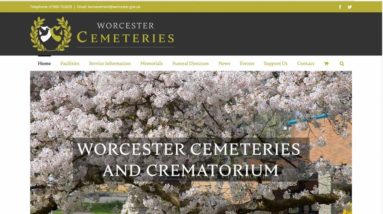 Worcester-Cemeteries-website-homepage