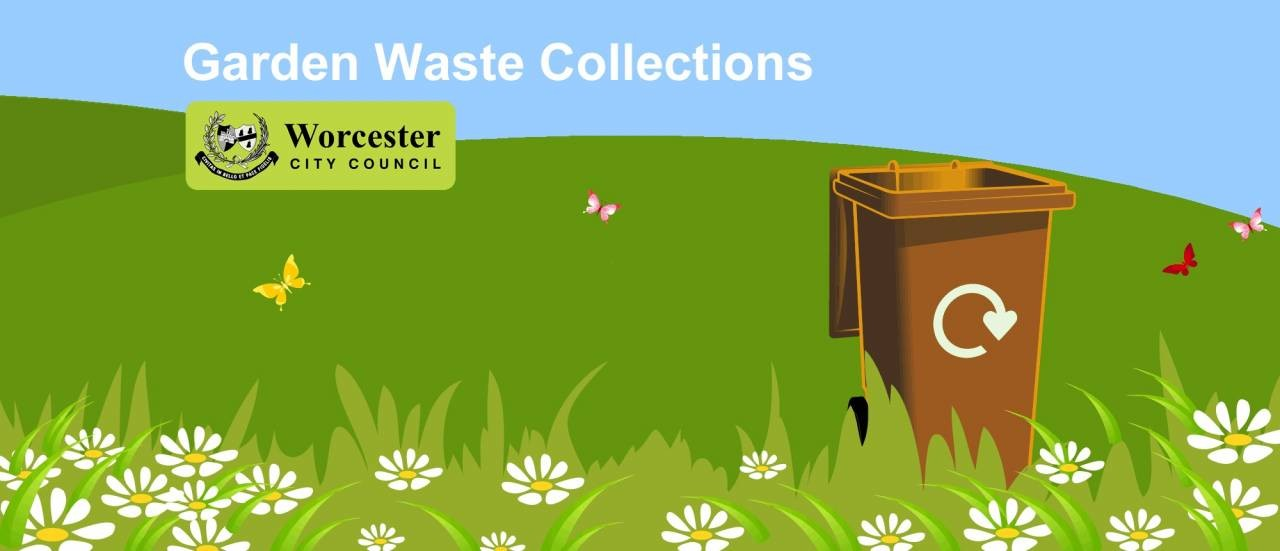 Garden waste brown bin